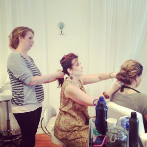 Staff Hairstyling
